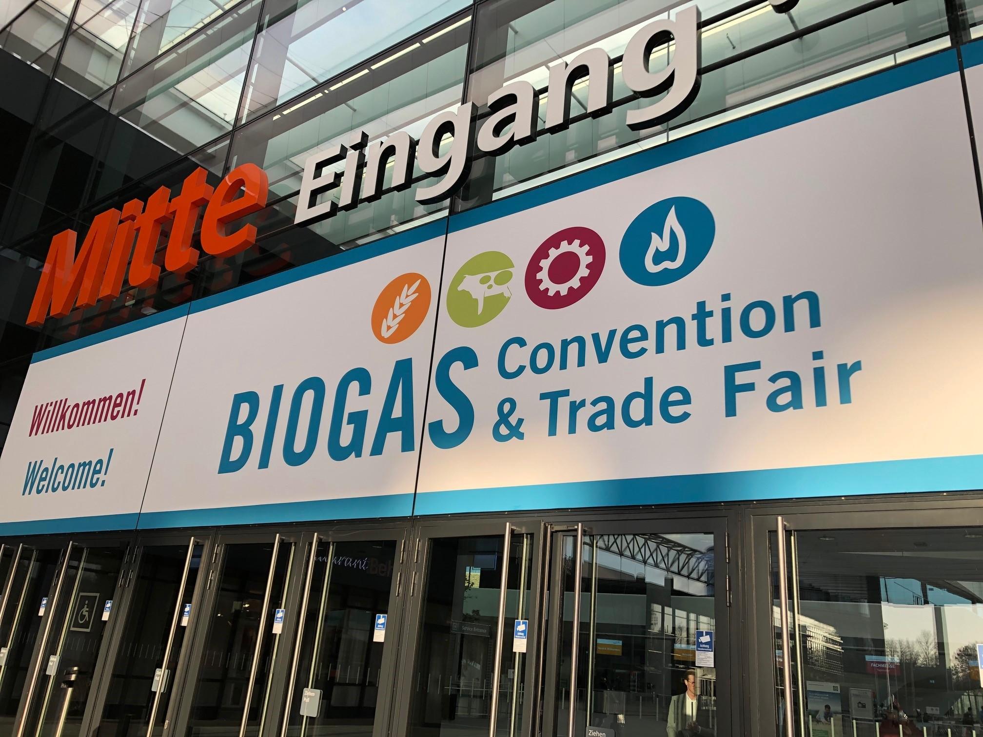 BIOGAS Convention & Trade Fair, 10.-12. Dezember 2019 in Nürnberg